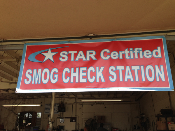 glendora smog star check test only 0012