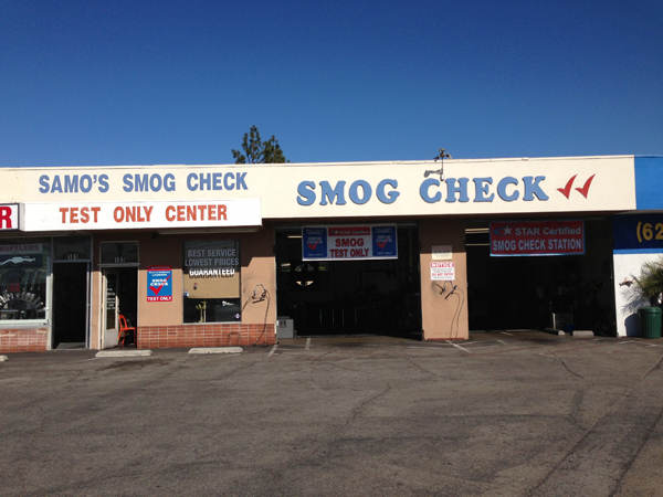 glendora smog star check test only 0013
